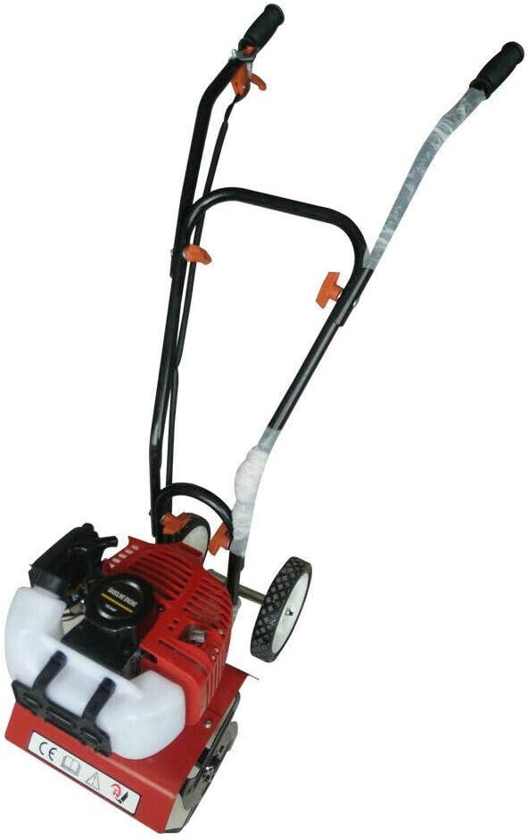 Minicultivador de 2 tiempos, 52 cc, a gasolina, motocultor, cultivador, azada para jardinería, motocultor, CDI