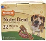 Nylabone Nutri Dent Filet Mignon, 32-Count Pantry Pack, My Pet Supplies