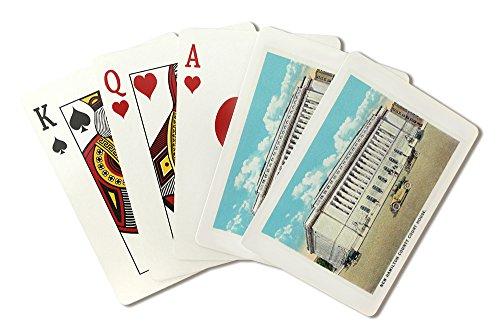 Cincinnati, Ohio - New Hamilton County Courthouse Exterior (Playing Card Deck - 52 Card Poker Size with - Court House Cincinnati Ohio