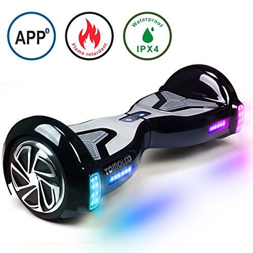 tomoloo hoverboard self balancing scooter with bluetooth. Black Bedroom Furniture Sets. Home Design Ideas