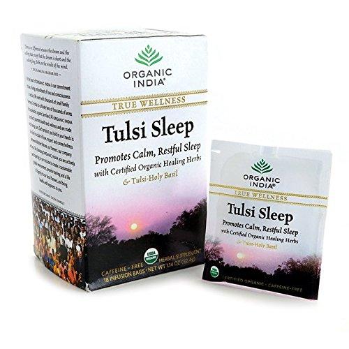 Organic India Tulsi Wellness Sleep Tea, 25 Tea bags