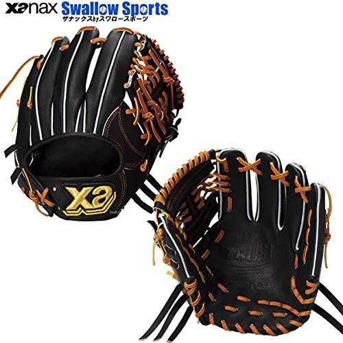 人気提案 XANAX(ザナックス) 硬式グラブ トラスト XANAX(ザナックス) BHG-52416 ブラック B01BIVZ4X2 硬式グラブ ブラック R, ADワタナベ:6e539d5a --- sabinosports.com