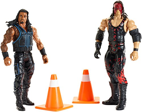 WWE Battle Pack Series #35: Kane and Roman Reigns Figures (2-Pack) (Series 2 Wwe Toy)