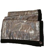 Lona Sombra Neta Impermeable Lona De Aluminio Reflectante Tejado Del Techo Terraza Exterior Terraza Protector Solar 99% Con Cobertizo Perforado WANGJUNXIU (Size : 2x6M)