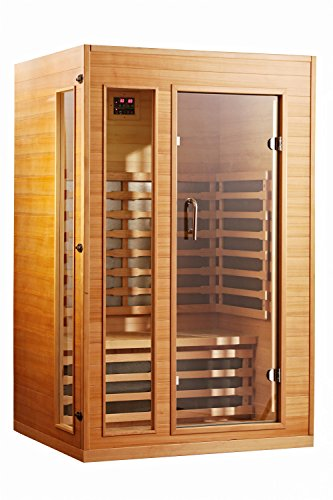 Royal Saunas 92HC-2 2 Persons Far Infrared Hemlock Saunas