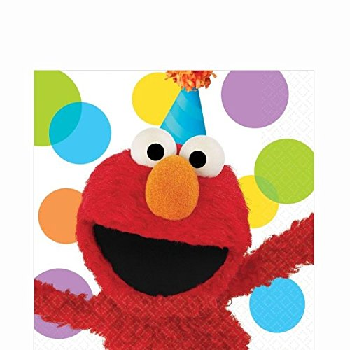 Lunch Napkins | Elmo Collection | Party Accessory