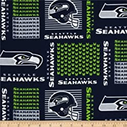 Official Licensed NFL Seahawks - 100% Cotton, 60