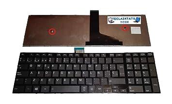 Teclado para PORTATIL Toshiba Satellite C55-A Serie EN ESPAÑOL Nuevo: Amazon.es: Electrónica