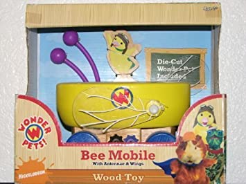 Wonder Pets Bee Mobile With Antennae Wings Wood Toy By Toy