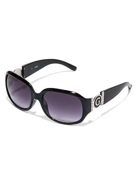 Amazon.com: Guess Cutout logotipo de plástico anteojos de ...