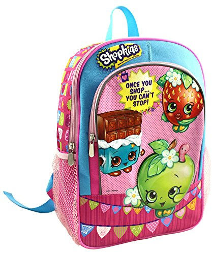 Shopkins - Once You Shop...You Cant Stop! 14 inch Backpack ()