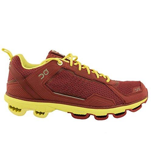 Mujer W Shoes Amarilla Running On 000008 Cloudrunner Roja 6zPxwEwf