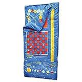 Boys - Playtime Reversible Slumber Bag - 25 Fun Interactive Games