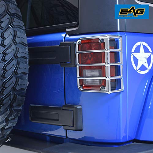 Autogrilles Covers Chrome Stainless Wrangler product image
