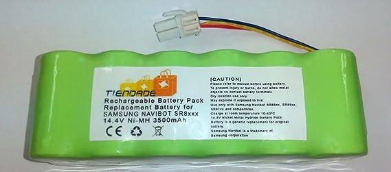Tiendade - Bateria 3500 mAh Nimh para Samsung Navibot: Amazon.es ...