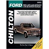 Chilton 26662 Tcc 76-86 Ford P/U/Bronco