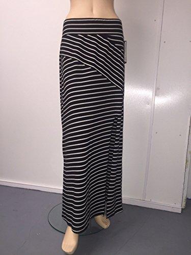 MB Maxi Skirt Black/Sour Cream: L,XL