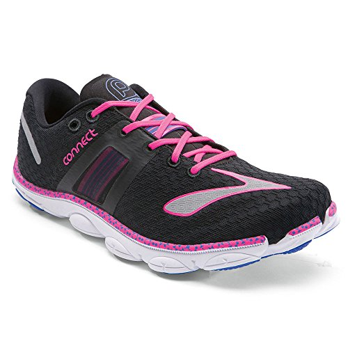 BROOKS Womens Pureconnect 4 Running Shoes (11 B(M) US, Bl...