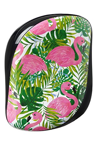 Tangle Teezer, Compact Skinny Dip Palm Flamingo, Tangle Teezer, Estampado