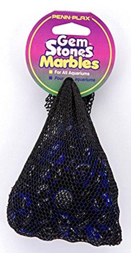 Decorative Glass Stones (Pen-Plax AG2 90 Bag Gemstones Decorative Aquarium Stones,)