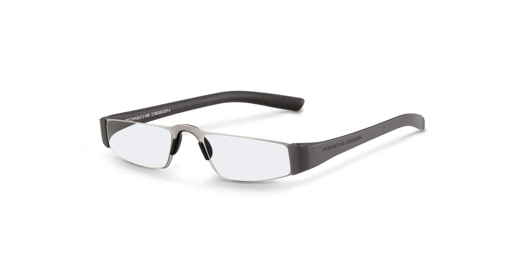 Authentic Porsche Design P 8801 F Titanium Silver +1.50 Reading Glasses