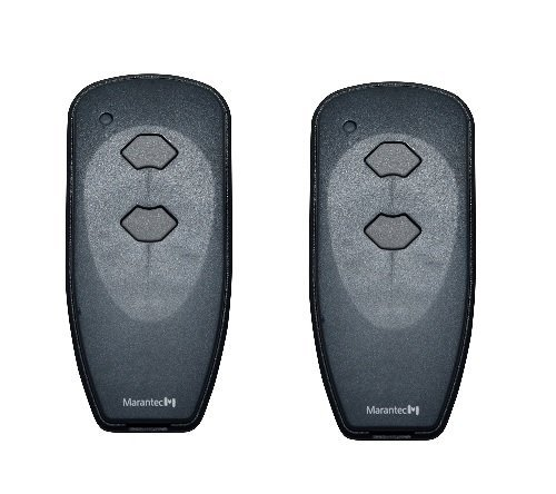 Garage Door Header - Marantec M3-2312 Garage Door Opener Remote Set of 2