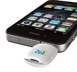 Medidor de glucosa en sangre 2 en 1 para Apple iPhone y iPad