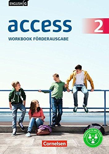 English G Access - Allgemeine Ausgabe / Baden-Württemberg: Band 2: 6. Schuljahr - Workbook - Förderausgabe: Arbeitsheft mit Online-Lösungen