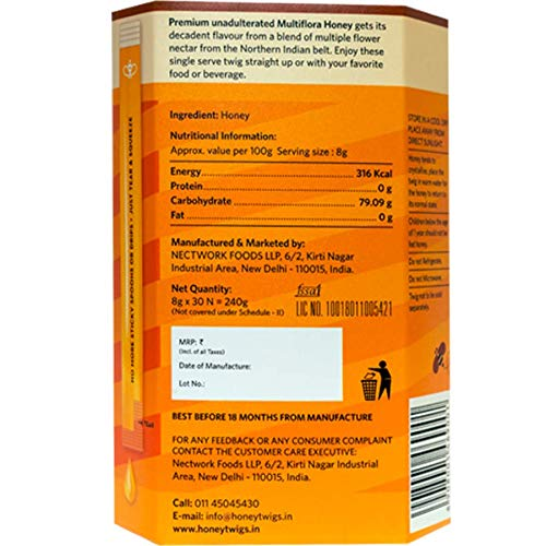aaf792b3fcc90 Honey Twigs Multiflora Honey - 240 Grams