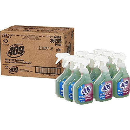 Formula 409 Heavy Duty Degreaser, Spray, 32 Ounces, 9 Bottles/Case (35296)