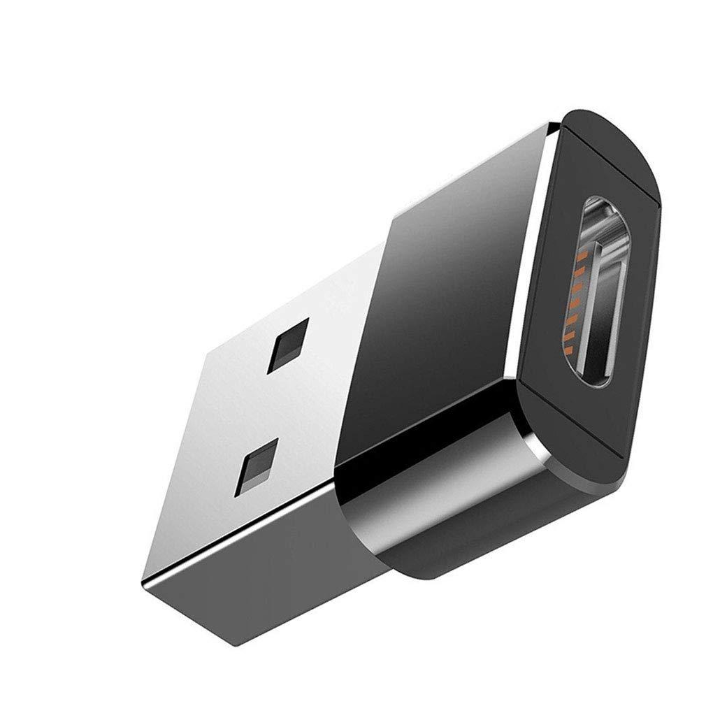 PRENKIN Homme USB pour Type C Femme Mini Adaptateur pour Ordinateur Portable USB Plug pour Port USB-c Converter Portable