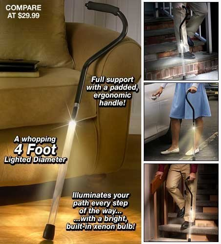 Pathlighter Lighted Safety Cane