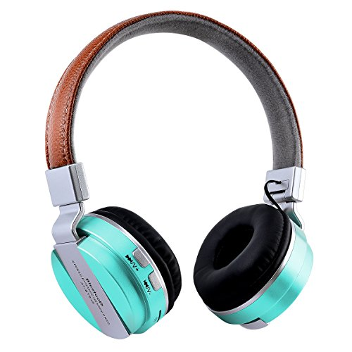 Price comparison product image INorton Foldable Wireless Headphone,  Heavy Bass Sound Bluetooth Headphone,  Support 3.5mm Audio Input & FM&TF Slot for iPhone Galaxy