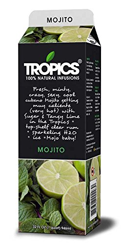 Tropics Mojito Drink Mix, 32 Ounce -- 12 per case. by Beverage Innovations