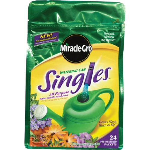 Miracle-Gro 1013203 Watering Can Singles - Water Soluble All Purpose Plant Shopping Results