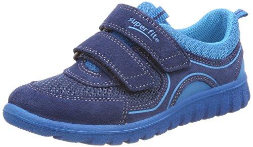 Superfit Baby Jungen Sport7 Mini Sneaker Blau (Water Kombi)