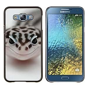 Jordan Colourful Shop - Happy Snake For Samsung Galaxy E7 E7000 Personalizado negro cubierta de la caja de pl????stico