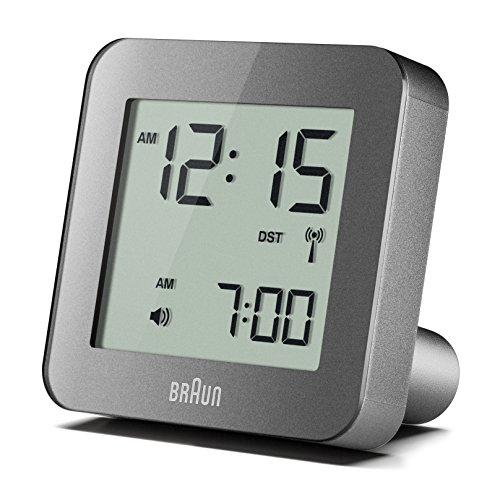 Braun BNC009GY-RC Digital Quartz Alarm Clock