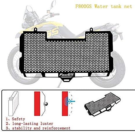 WONYAN Motocicleta Piezas For BMW F800GS F700GS F650GS F800S F800R motocicleta Accesorio protector de la parrilla del radiador parrilla cubierta m/ás fresco protector Moto Partes Color : F800GS