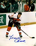 #6: Autographed Mark Howe 8X10 Photo - Philadelphia Flyers