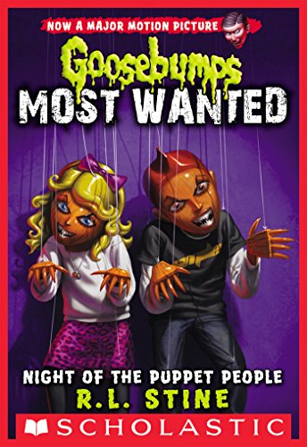 Night of the Puppet People (Goosebumps Most Wanted for sale  Delivered anywhere in USA
