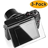 Glass Screen Protector Compatible Canon G7X Mark II G9X G9XII G7X G5X, Kimilar 3 Packs Anti-Scratch Waterproof Clear Touch 9H Tempered Glass Screen Protector