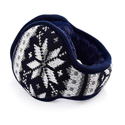British Style Animal Gentle Wolf And Scarf Animal Winter Earmuffs Ear Warmers Faux Fur Foldable Plush Outdoor Gift