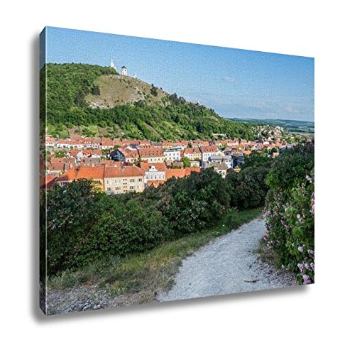 Ashley Canvas, Holy Hill With Saint Sebastian Chapel In Mikulov Town In Czech Republic, Home Decoration Office, Ready to Hang, 20x25, AG6006445 by Ashley Canvas