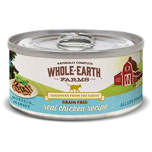 Merrick Whole Earth Farms Grain Free Chicken Morsels in Gravy Recipe Cat 24/5Z by Pet Supply