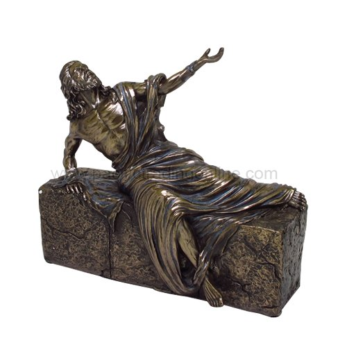 PTC 7.5 Inch Jesus Christ He is Risen Religious Statue Figurine