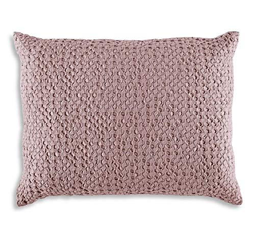 - Dwell Studio Thayer Jacquard Quartz Pink Euro Sham /100% Cotton