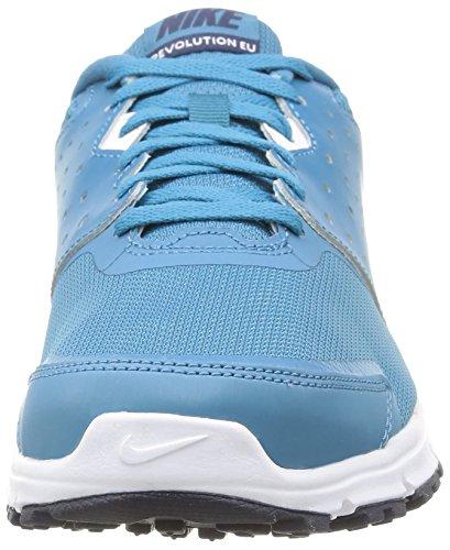 Nike Revolution EU - para Hombre, Multicolor (Stratus Blue/White-obsdn-White), 41