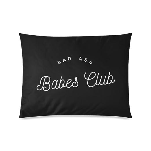Custom Bad Ass Babes Club personalizado fundas de almohada ...