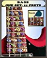 Educational Fretboard Note decals for Bass Guitar from Fretkey
